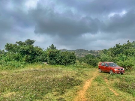 Car at Kaurava Kunda