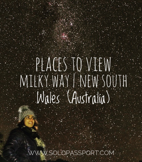 Places to view Milky Way in New South Wales
