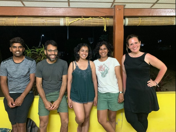 Staff at India Scuba Explorers
