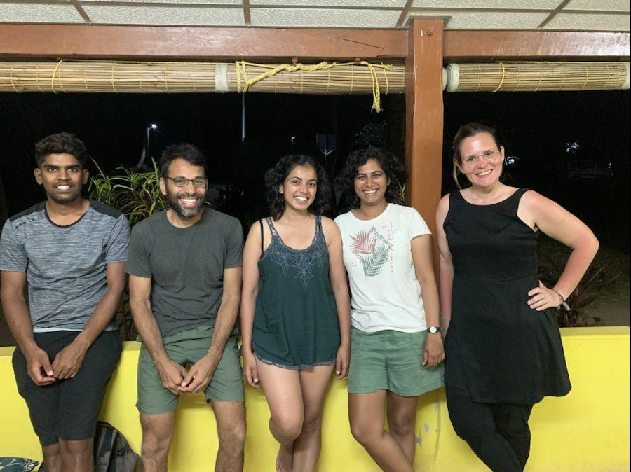 Staff at India Scuba Explorers