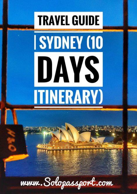 Sydney - 10 days