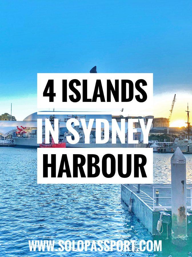 4 Islands in Sydney Harbour
