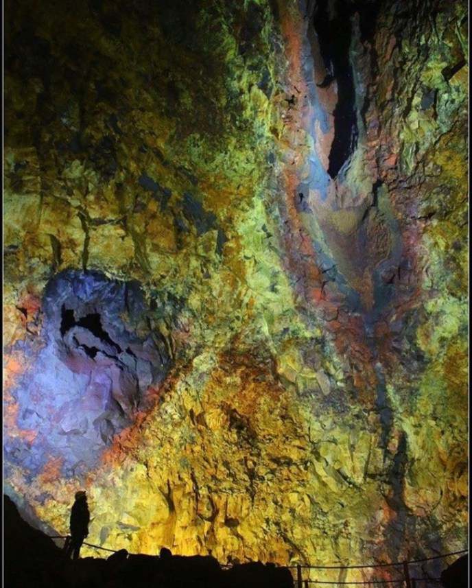 Inside a volcano called 'Thrihnukagigur'