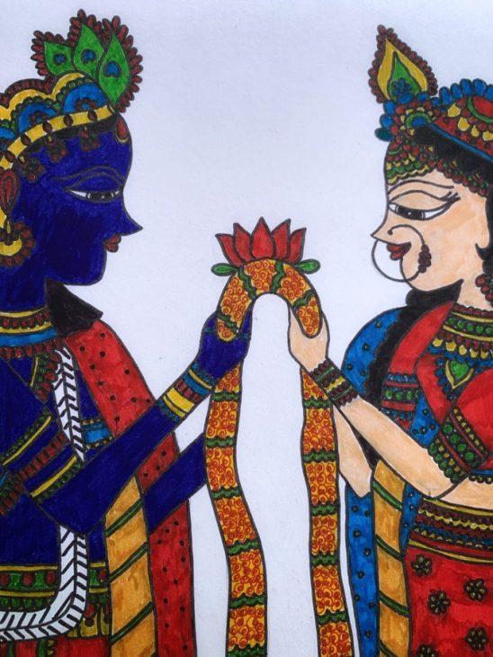 Kalamari Painting