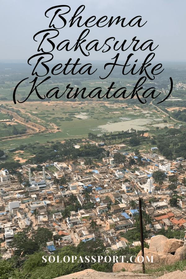 Hike to Bheema Bakasura/Kailashgiri betta (Karnataka)