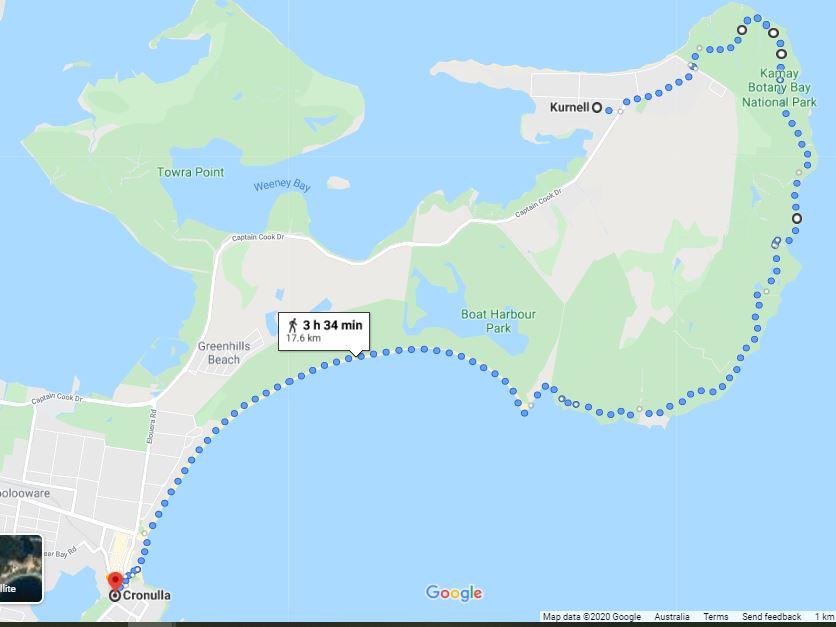 Kurnell to Cronula Coastal Walk