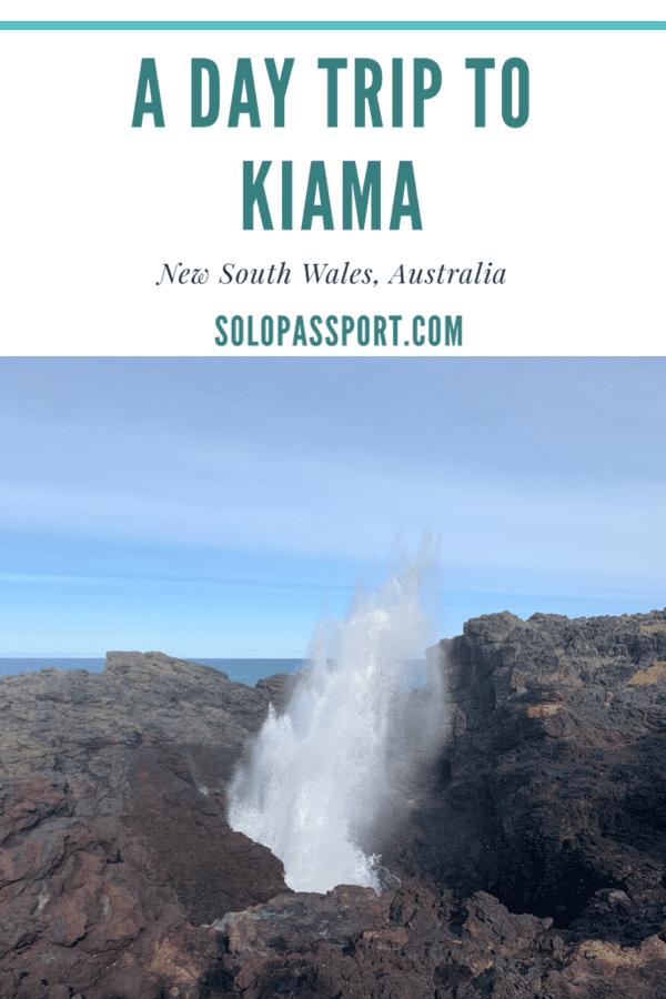 A day trip to Kiama