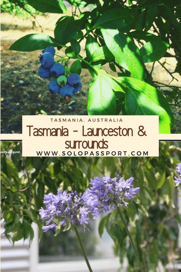 A weekend in Tasmania; Launceston