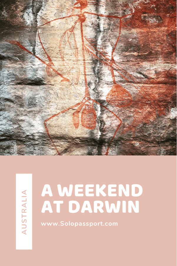 PIN for later reference - A weekend in Darwin
