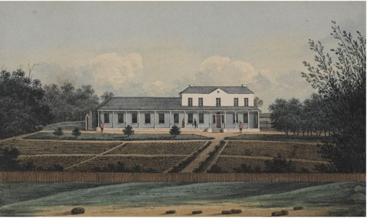 First Government House 1809
