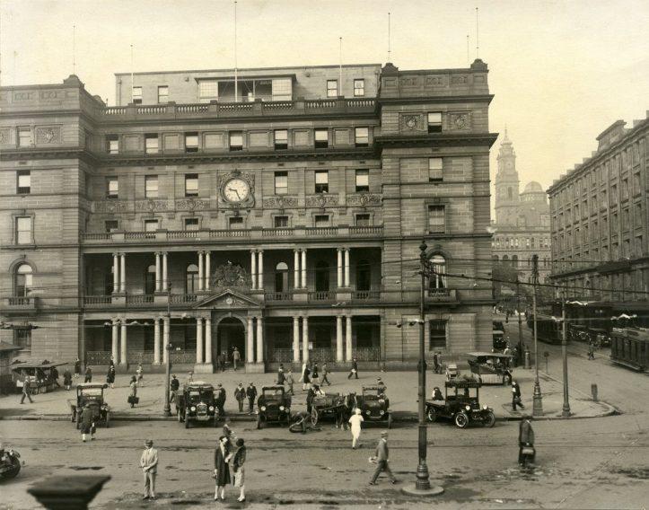 Customs House Sydney 1928