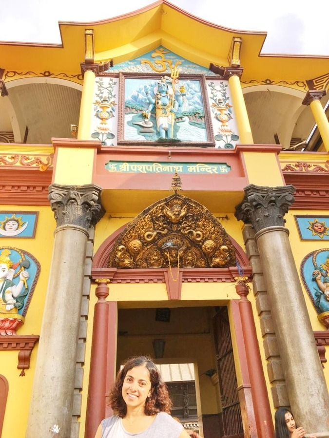 10 days backpacking in Nepal Pashupathinath temple