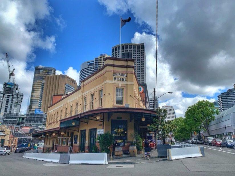The Australian Hotel -Colony History Walk - The Australian Hotel to Dawes Point