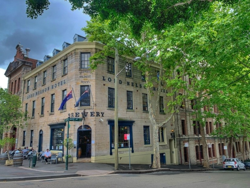 Lord Nelson Hotel -Colony History Walk - The Australian Hotel to Dawes Point