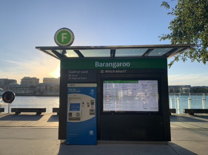 Darling Harbour to Barangaroo Reserve