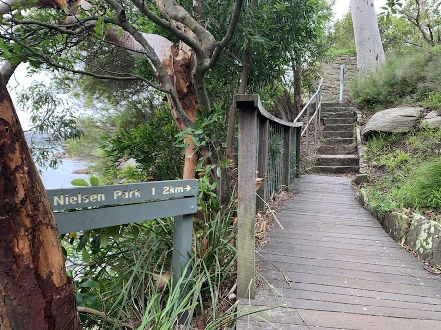 Hermitage Foreshore Walk in Sydney