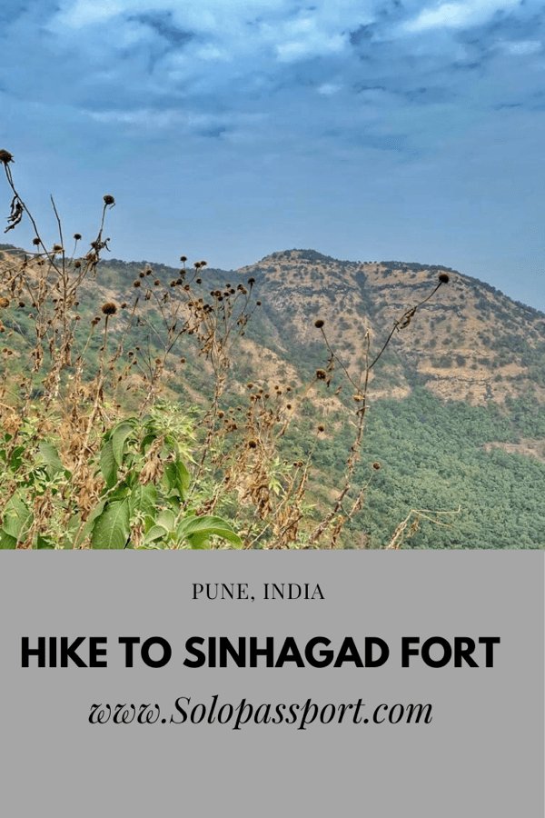 PIN for later reference - Hike to Sinhagad Fort