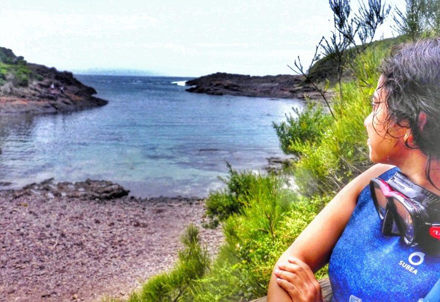 Snorkelling at Bushrangers Bay