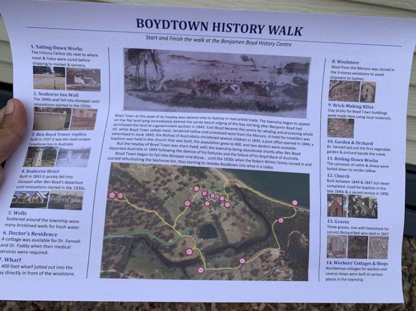 Boydtown Historical walk