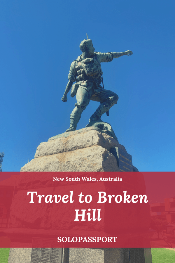 Travel to Broken Hill