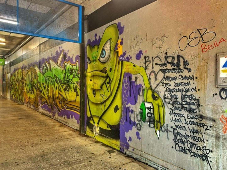 Graffiti at Orange