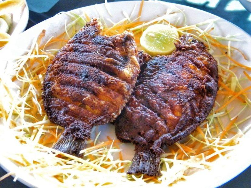 Fish fry in Kumarakom