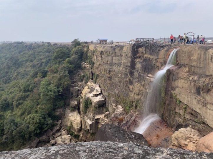 Dainthlen waterfalls Meghalaya