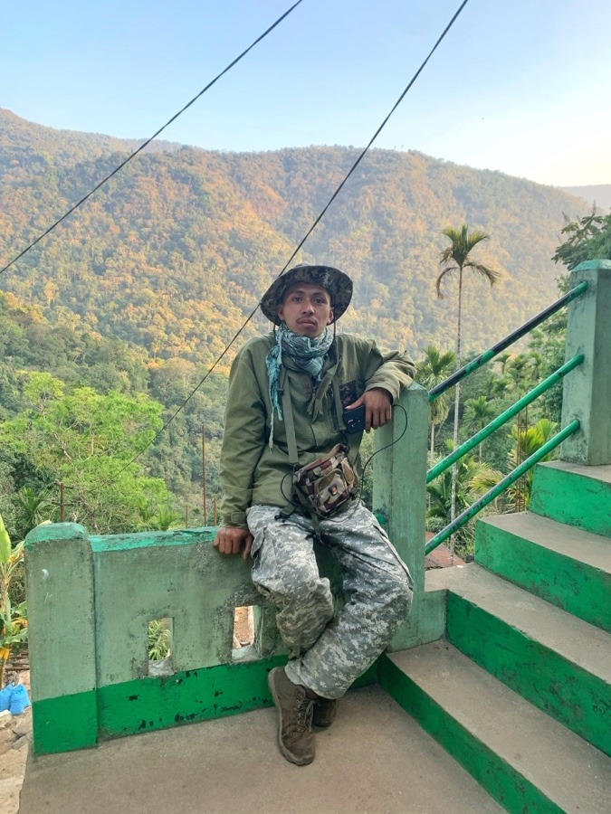 Our guide in Meghalaya