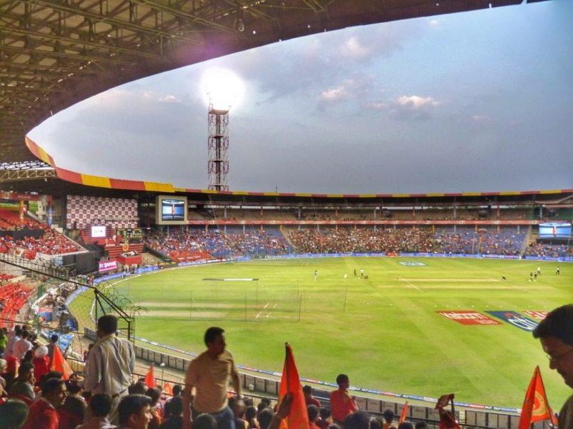 M Chinnaswamy stadium, Bangalore