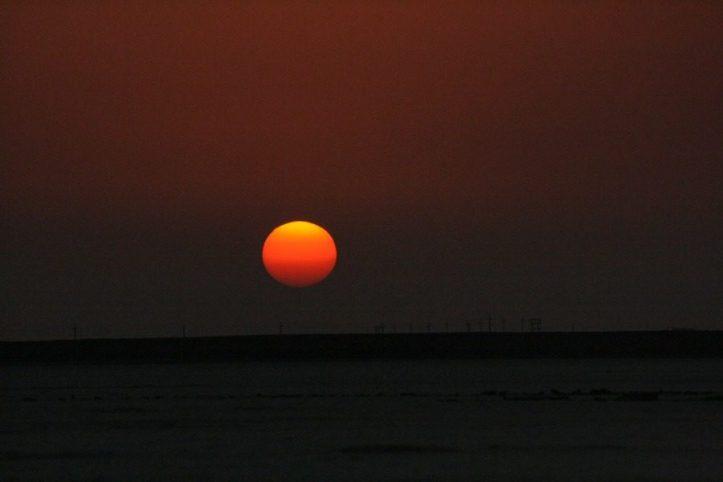 Sunset at Gujarat