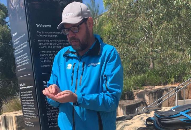 Tim Gray, from homeless to becoming an aboriginal guide