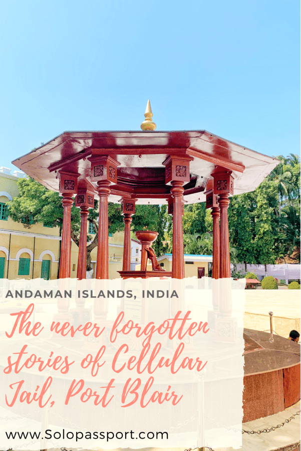 PIN for later reference - The never forgotten stories of Cellular Jail, Port Blair