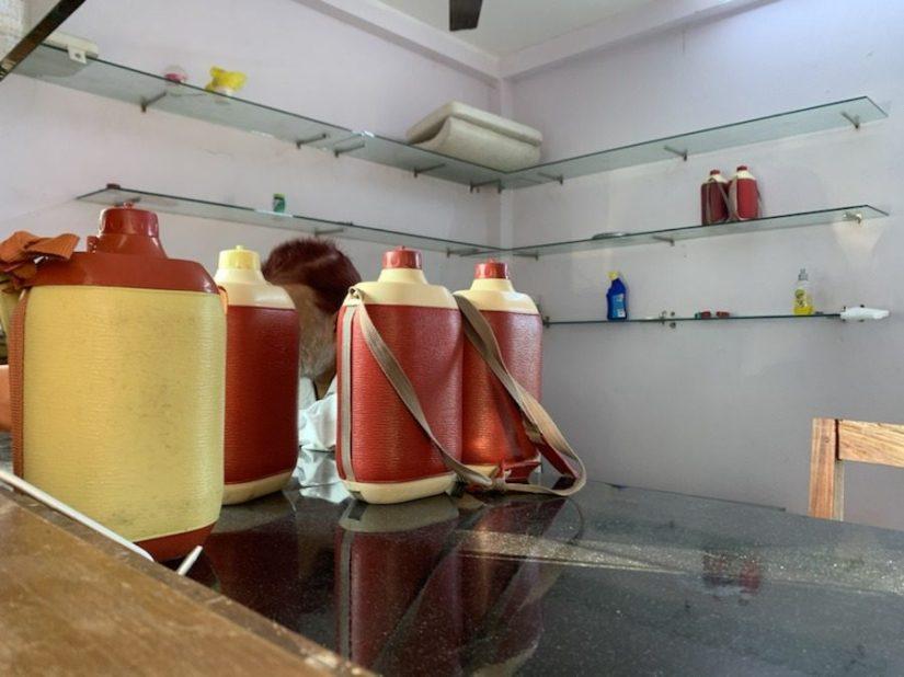 Water bottles, Jolly Buoy Island