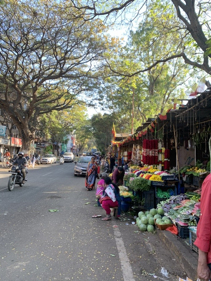 Malleshwaram market