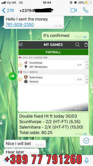 DOUBLE HT FT FIXED MATCHES 3003