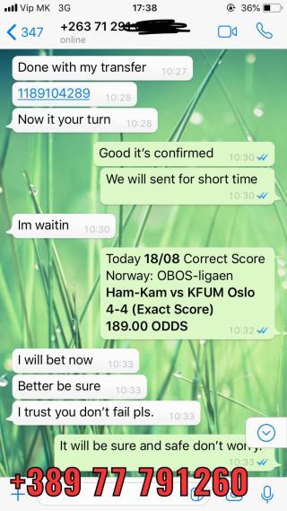 correct score won 189 odds 1808