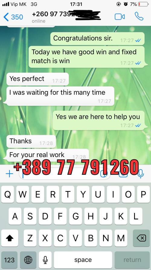 fixed match 30 odd won