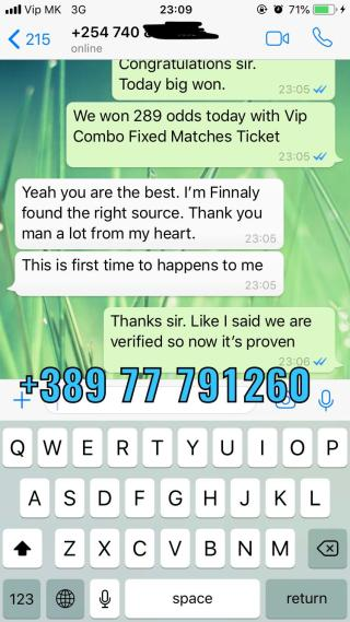 27 10 fixed matches won combo vip ticket proof