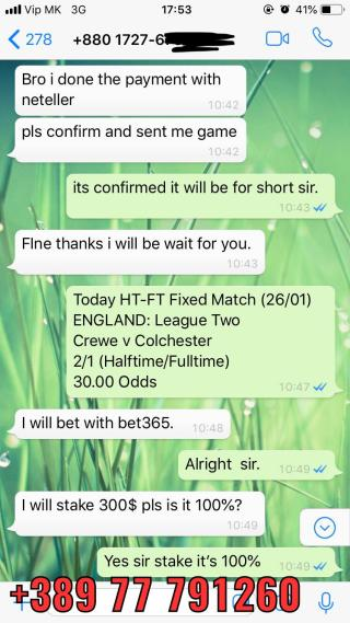 ht ft fixed match 30 odd