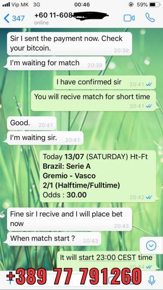 ht ft fixed matches 30 odd won 1307