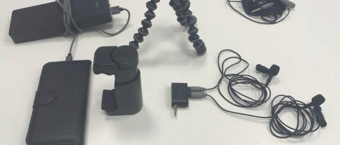 Equipement vidéo pour filmer avec un smartphone