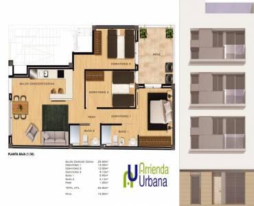 Elche,Alicante,España,3 Bedrooms Bedrooms,2 BathroomsBathrooms,Apartamentos,26565