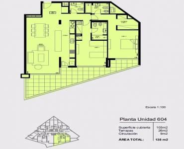 Punta del Este, Maldonado, Uruguay, 2 Bedrooms Bedrooms, ,3 BathroomsBathrooms,Apartamentos,Venta,41746