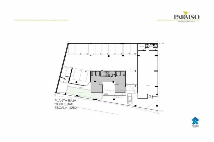 Granadero Baigorria,Santa Fe,3 Habitaciones Habitaciones,2 BañosBaños,Departamentos,Edificio Paraiso,Av. San Martin,1622