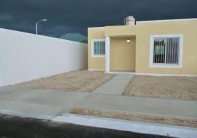 Mérida,Yucatán,Mexico,2 Bedrooms Bedrooms,1 BañoBathrooms,Casas,103 Cd. Caucel,7623
