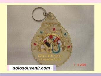 Souvenir Pernikahan Gantungan Kunci wayang kulit 3