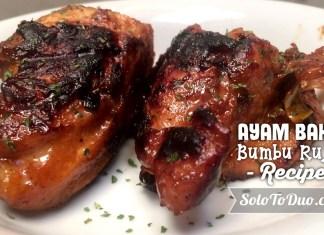 Resep Masakan Ayam Bakar Bumbu Rujak