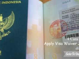 4 Cara Mudah Apply Visa Waiver Jepang di Jakarta