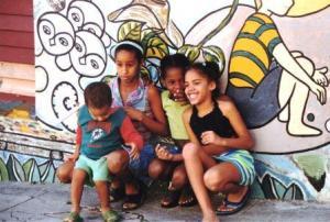 Children in Havana, Cuba Dec. 2003