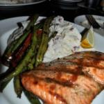 Salmon Dinner, Henry's Tavern, Where to Eat in Portland